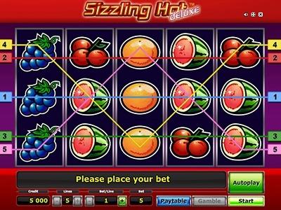 Slotmaschinen Kostenlos Spielen Ohne Anmeldung Sizzling Hot