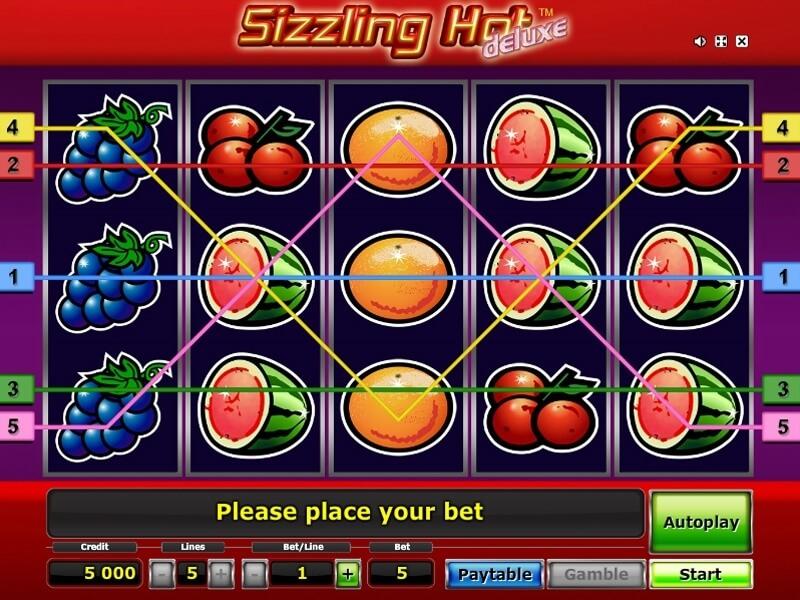 Sizzling Hot Spielen Gratis Ohne Anmeldung